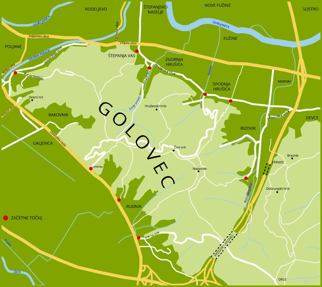 Escape Golovec
